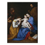 Marriage of St.Catherine by Jusepe de Ribera Print