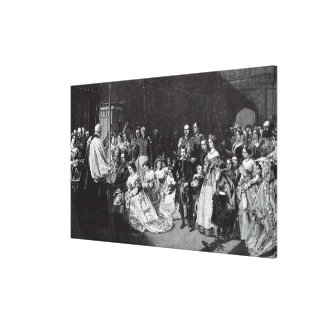 Marriage of the Princess Royal Canvas Print