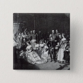 Marriage of the Princess Royal Pinback Button