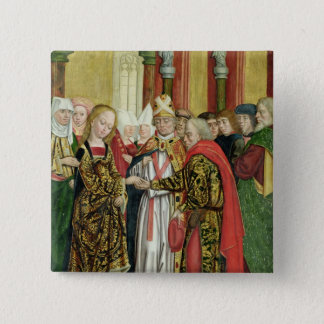 Marriage of the Virgin, from the Dome Altar, 1499 Button