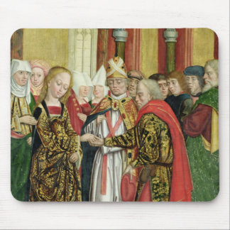 Marriage of the Virgin, from the Dome Altar, 1499 Mouse Pad
