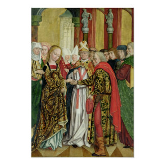 Marriage of the Virgin, from the Dome Altar, 1499 Poster