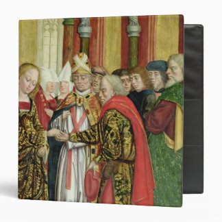 Marriage of the Virgin, from the Dome Altar, 1499 Vinyl Binder