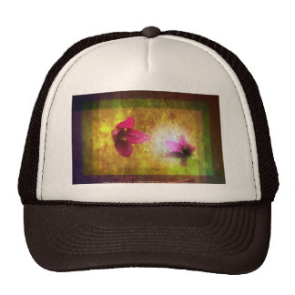 marriage of Titania; Salmon berry floral duet Trucker Hat