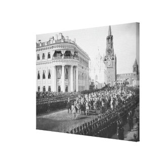 Marriage of Tsar Nicholas (1868-1918) to Alexandra Stretched Canvas Prints