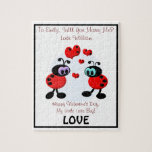 Marriage Proposal Love Bugs Jigsaw Puzzles