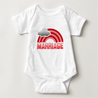 MARRIAGE RAINBOW T SHIRTS