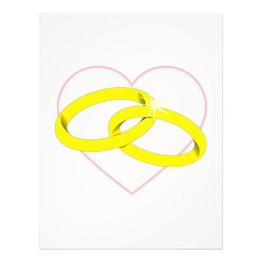 Marriage Rings Letterhead
