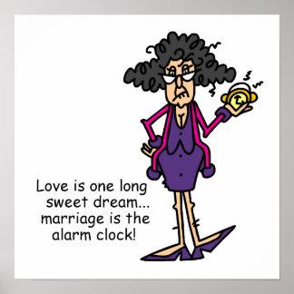 Marriage Rude Awakening Poster