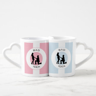 Marriage,run away from this! coffee mug set
