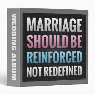 Marriage Should Be Reinforced Binder