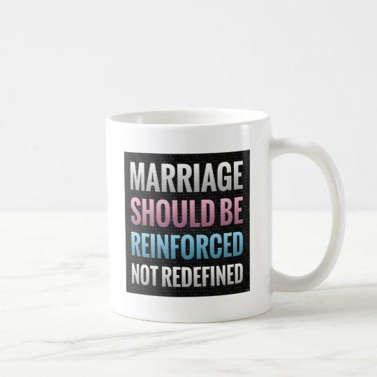 Marriage Should Be Reinforced Coffee Mug