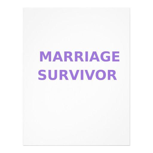 Marriage Survivor - 2 - Violet Letterhead