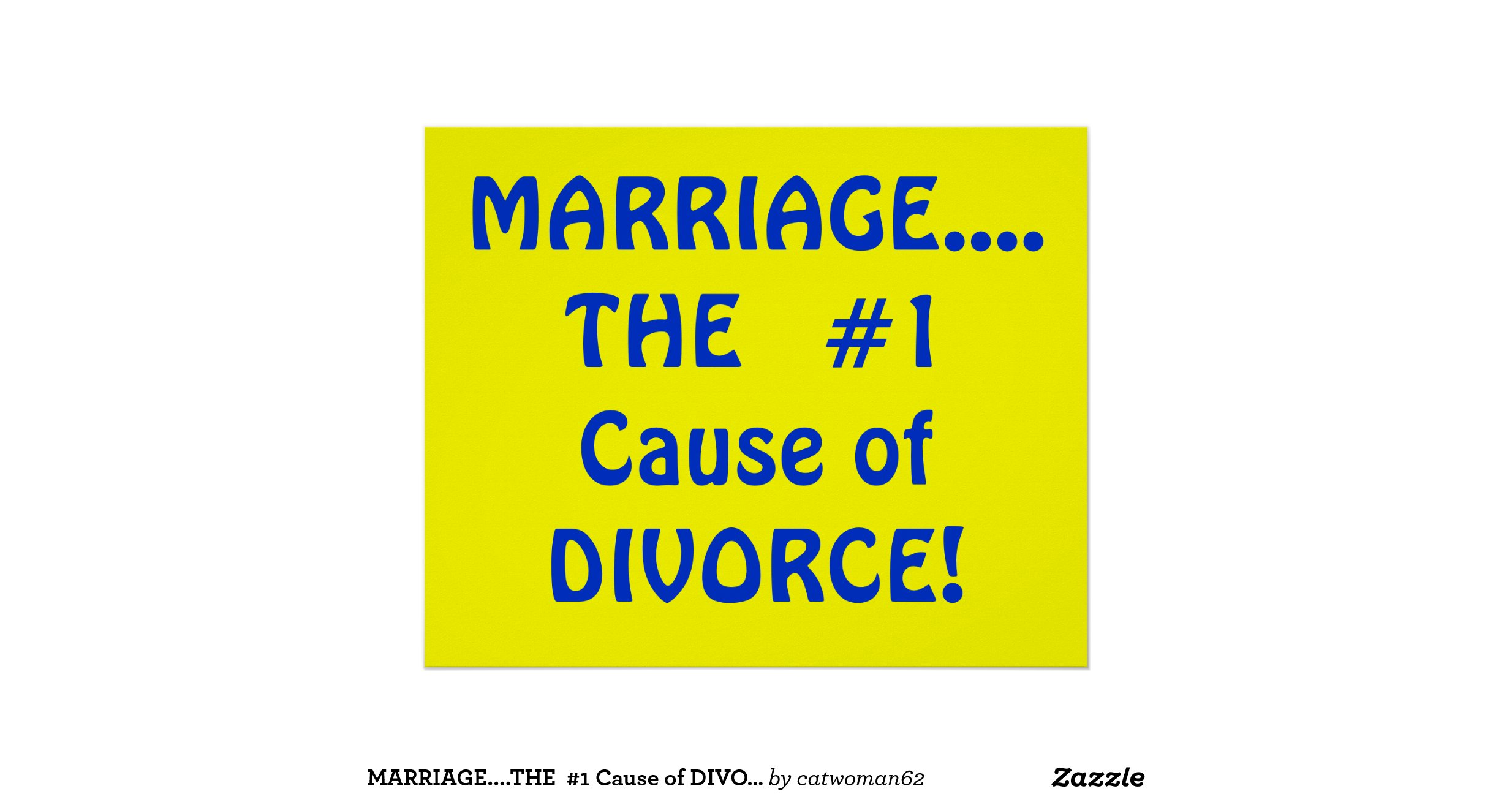 the cause of divorce The only reason for a divorce - uk law in the uk, the court will want to know that your marriage has 'irretrievably broken down' this you need to prove with one or more of the following facts:.