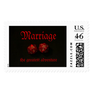 Marriage the greatest adventure stamps