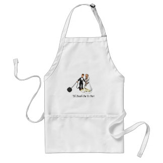 Marriage: 'Til Death Do Us Part Adult Apron