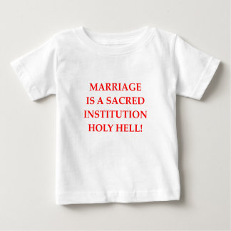 MARRIAGE INFANT T-SHIRT