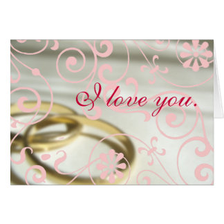 Marriage Valentine Greeting Card