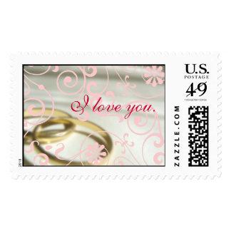 Marriage Valentine Stamp