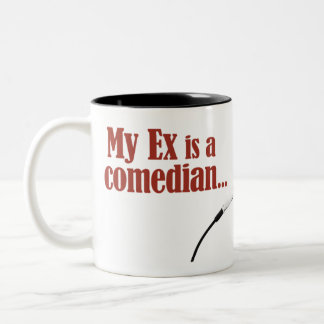 Marriage was a joke Two-Tone coffee mug