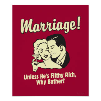 Marriage: Why Bother Poster