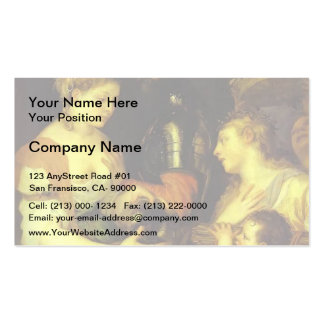 Marriage with Vesta and Hymen by Titian Double-Sided Standard Business Cards (Pack Of 100)
