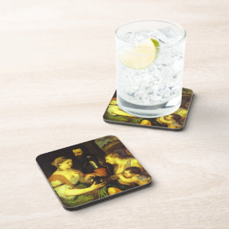 Marriage with Vesta and Hymen by Titian Beverage Coaster