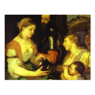 Marriage with Vesta and Hymen by Titian Post Cards