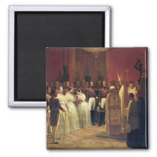 Marriages of Queen Isabella II Fridge Magnets