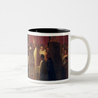 Marriages of Queen Isabella II Two-Tone Coffee Mug