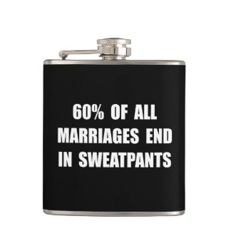 Marriages Sweatpants Hip Flask