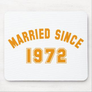 married 1972 alfombrilla de raton