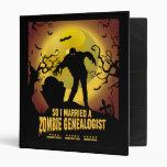 Married A Zombie Genealogist Binders