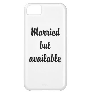 married but available iPhone 5C cases