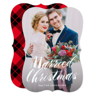Married Christmas Card