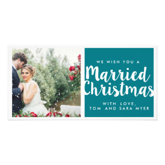 MARRIED CHRISTMAS | CHRISTMAS CARD