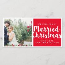 MARRIED CHRISTMAS | CHRISTMAS HOLIDAY CARD