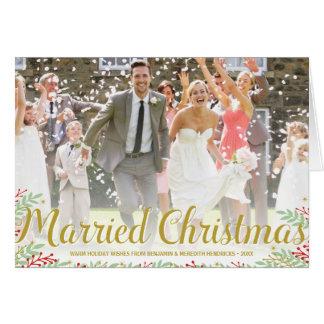 Newlywed Christmas Cards | Zazzle