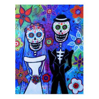 Married Coouple Postcard
