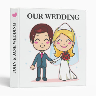 Married Couple Holding Hands Binder