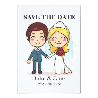 Married Couple Holding Hands Custom Invite