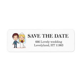 Married Couple Holding Hands Label