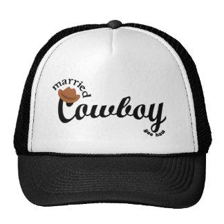 married Cowboy Trucker Hat