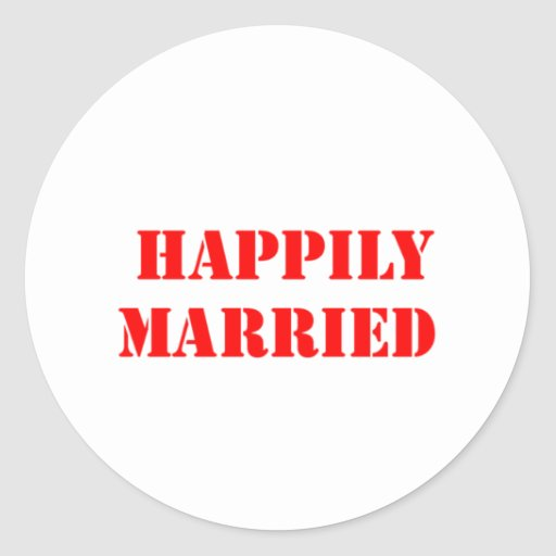married funny sticker