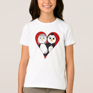 Married Heart Penguins T-Shirt