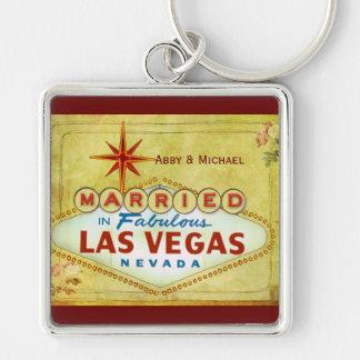Married in Fabulous Las Vegas - Vintage Key Chains