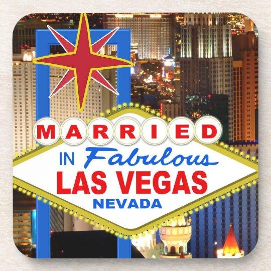 Married In LAS VEGAS Coasters