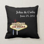 MARRIED In Las Vegas Personalized American MoJo Pi Pillows