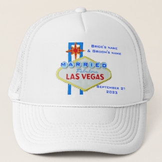 Married in Las Vegas Trucker Hat