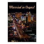 Married in Vegas! Announcement Cards